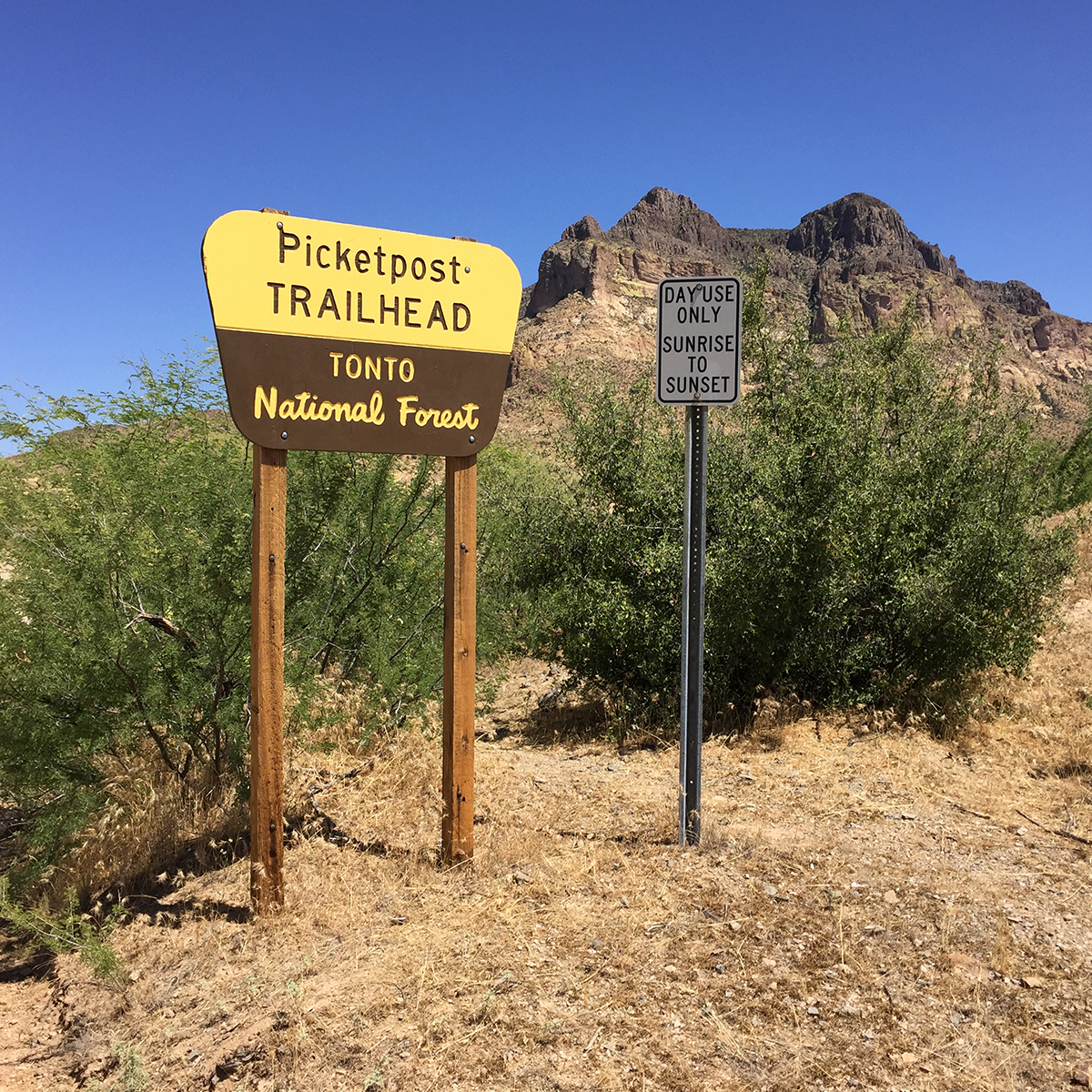 Picketpost Trailhead - Arizona