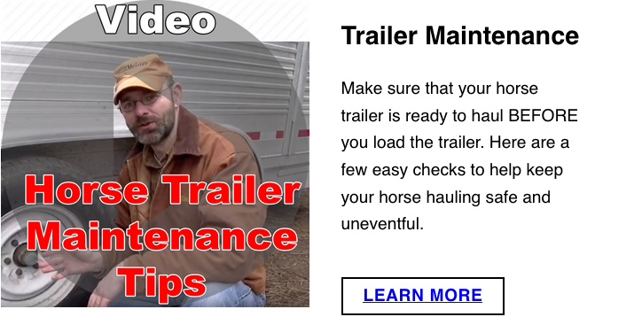 Trailer Maintenance